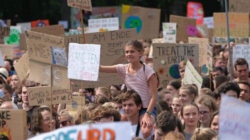 School students strike worldwide, demand action on climate change