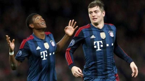 Quarters in sight as Bayern beat Arsenal