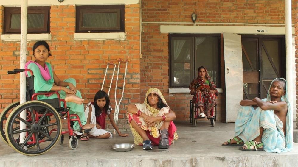 Inside Nepal's busiest leprosy hospital