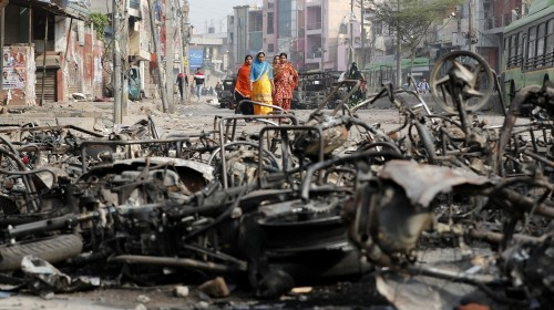 Indian capital hit by violence: All the latest updates