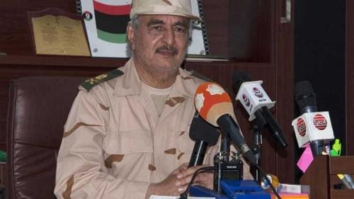 Haftar's group claims Libya air raid