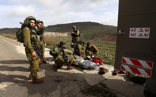 Israel strikes Syria after Golan Heights attack