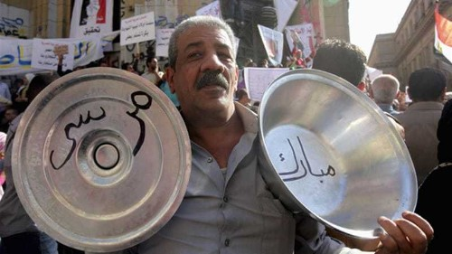 Morsi supporters and opponents clash in Egypt