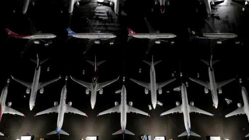 Boeing reports 53-percent drop in profits