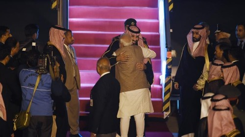 Saudi crown prince in India as 'trade, investment' top agenda