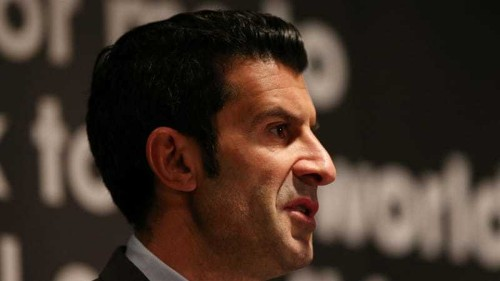 Figo wants '40 or 48' teams at the World Cup