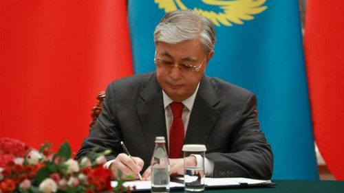 Kazakh president orders probe into China-linked transport project