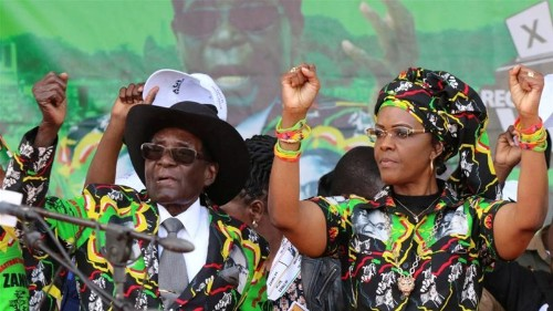 South Africa's borders on 'red alert' for Grace Mugabe