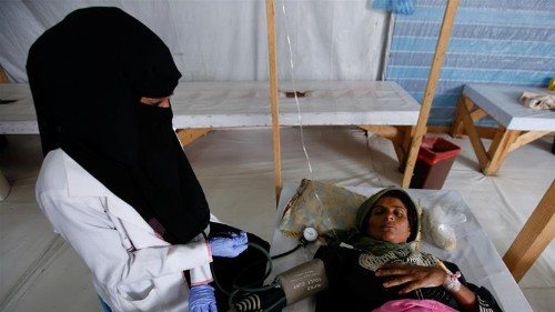 Three days in a Yemeni cholera camp