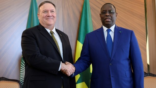 Mixed signals as Pompeo begins three-stop Africa tour