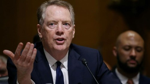 Lighthizer tells Congress future US jobs are at risk over trade