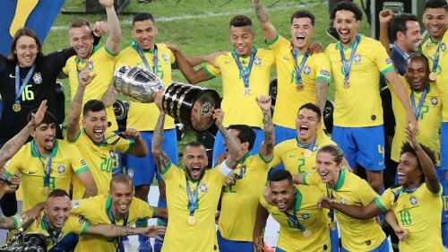 Copa America: Brazil beat Peru 3-1 to lift the title