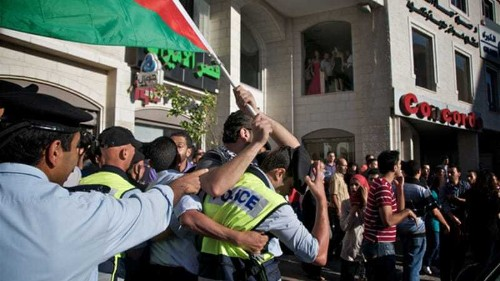 Palestinian journalists decry intimidation