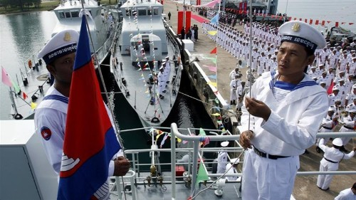 Cambodia denies deal to allow Chinese forces at its naval base