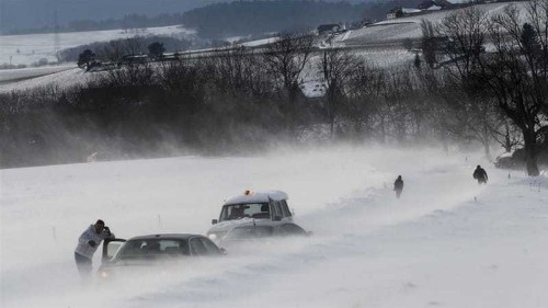 Winter storm causing havoc in southern Europe