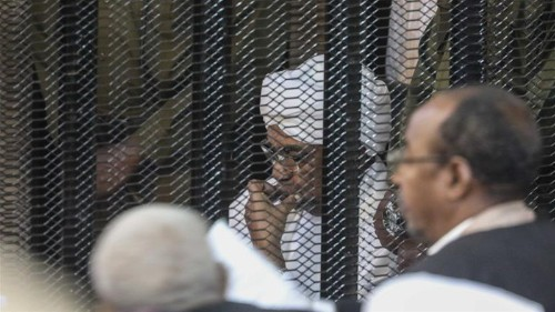 Bashir lawyers seek release on bail as corruption trial continues