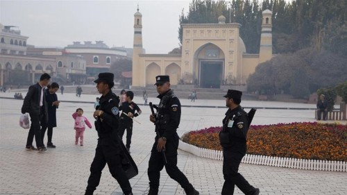Chinese city urges those 'poisoned by extremism' to surrender