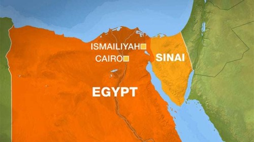 Egyptian soldiers killed at checkpoint