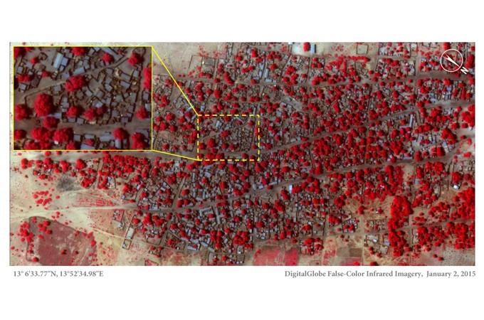 Images show scale of Boko Haram devastation