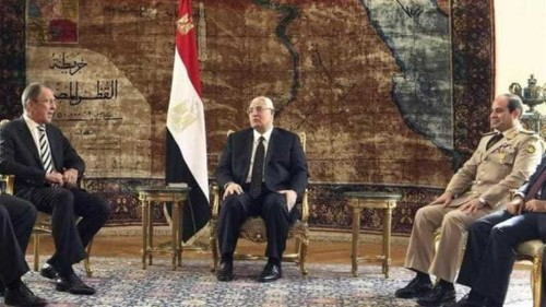 Egypt hails renewed military ties with Russia