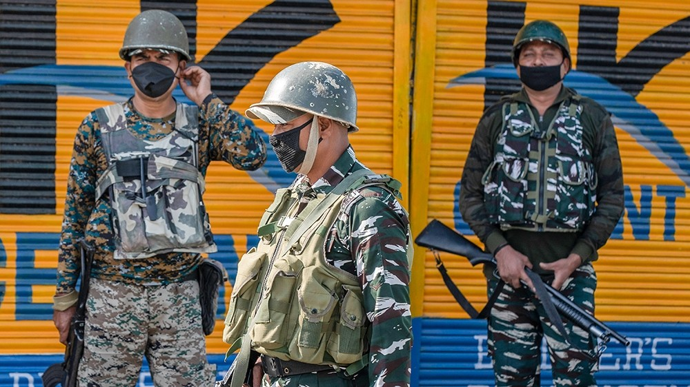 Kashmir daily office, activists' homes raided by Indian agency