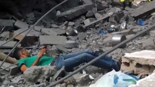 Palestinian's killing caught on camera