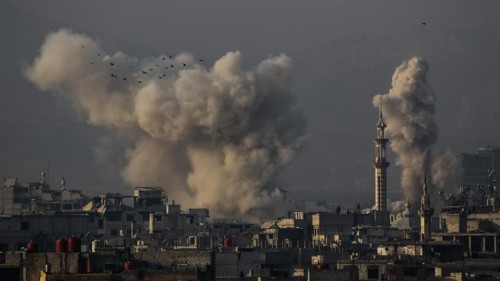 Syria's Ghouta: 'Nearly 180 killed' in two weeks
