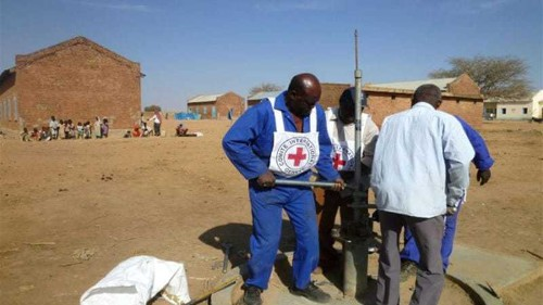 Red Cross says asked to suspend work in Sudan