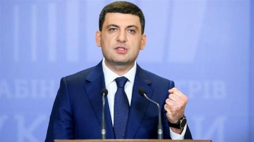 Ukraine's prime minister resigns in protest