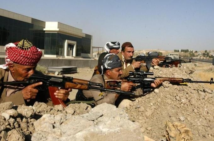 Triple suicide bombing hits Kurds in Iraq