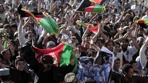 Afghans celebrate reaching first World Cup