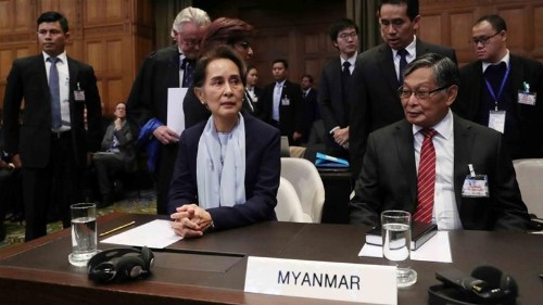 Myanmar: Defending genocide at the ICJ