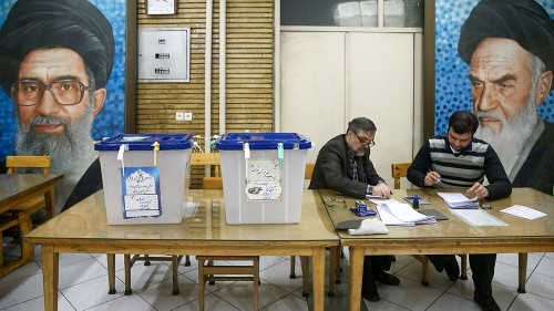 Iran conservatives prevail in polls marked by low turnout