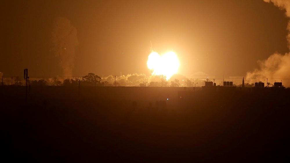 Israel bombs Gaza after rocket fire follows UAE, Bahrain deals