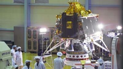 India's Vikram lander made it to the moon badly damaged