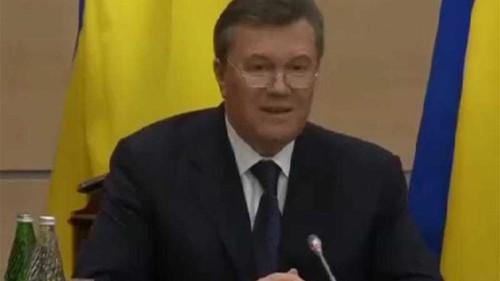Yanukovich regrets 'mistakes' on Crimea