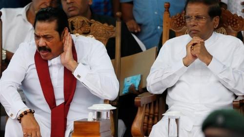 Sirisena, Rajapaksa, Wickremesinghe fail to end power struggle
