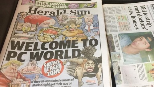 Williams 'spitting the dummy' caricature not racist: Watchdog