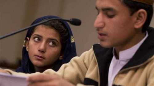 Malala and Nabila: worlds apart