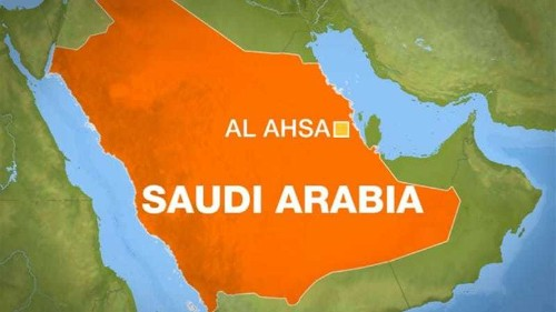Five killed in Saudi Arabia shooting