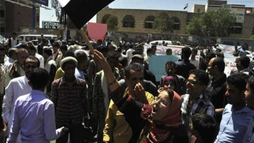 Yemen anti-Houthi rally stifled by rebels