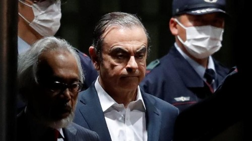 Ex-Nissan chief Carlos Ghosn released on $4.5m bail in Japan