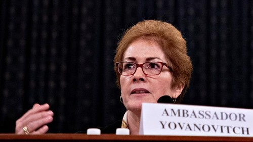 Pompeo breaks silence on alleged threats to envoy in Ukraine