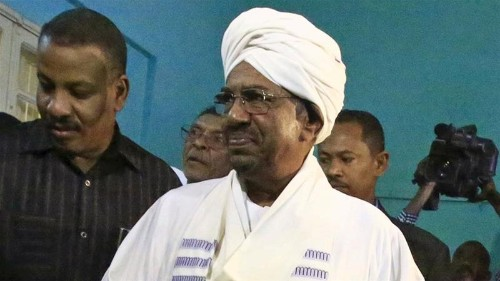 Sudan's Bashir re-elected with 94 percent of vote
