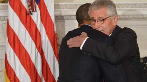 US defence secretary Chuck Hagel resigns