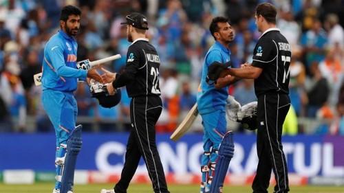 Cricket World Cup: New Zealand stun India to reach final