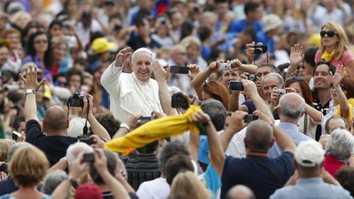 Pope urges more understanding for gays