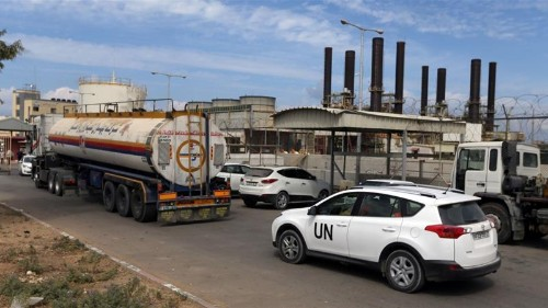 Qatari fuel enters Gaza to avert 'humanitarian disaster'