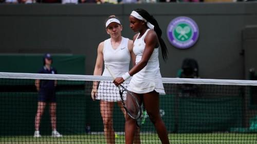 Wimbledon: Simona Halep ends US teen Cori Gauff's debut dream run