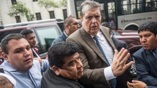 Ex-Peru president seeks Uruguay asylum following travel ban